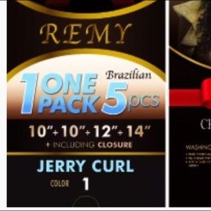 Chocolate Hair Brazilian Remy 1 Pack